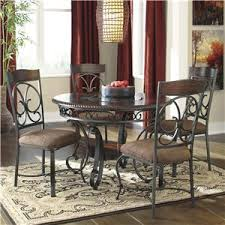 Ashley Dining Room Table And Chairs by Signature Design By Ashley Glambrey Round Dining Table And 4 Chair