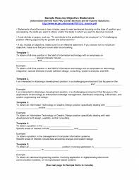 cover letter an objective statement for a resume what is an