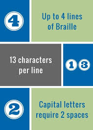 Minimum Font Size For Business Card Professional Braille Business Cards Braille Works