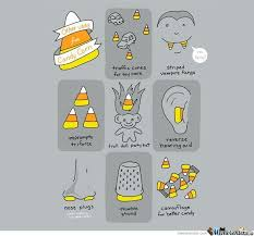 Candy Corn Meme - other uses for candy corn by ben meme center