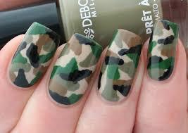 camouflage nail art tutorial youtube