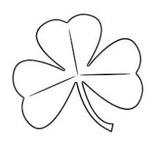 shamrock template for st patrick u0027s day crafts holiday st