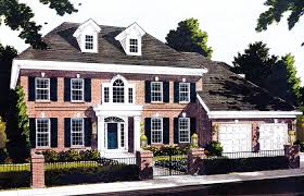 federal home plans webster woods georgian home plan s house plans and more colonial