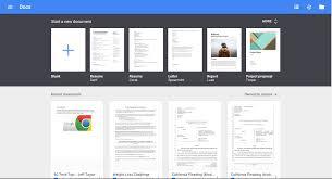 Resume Templates For Google Docs Google Docs Templates Tristarhomecareinc