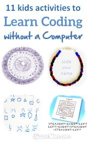 Computer Lesson Worksheets 11 Activities To Learn Coding Without A Computer