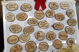 this saturday personalized wood burning ornaments at the shop a