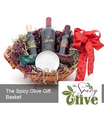 olive gift basket the spicy olive gift basket the spicy olive