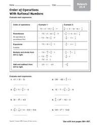 lesson plan rational numbers 28 images compare and order