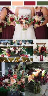 beautiful burgundy wedding colors shades gold u2013 stylish