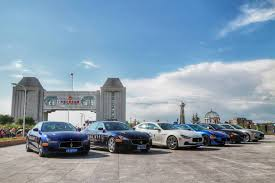 maserati road maserati 100 road to modena tour enters russia gtspirit
