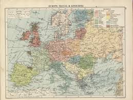 The Map Of Europe by Macedonians Noted On A Racial And Linguistic Map Of Europe 1920