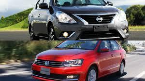 nissan versa que gasolina usa frenteafrente nissan versa vs volkswagen vento los sedanes más