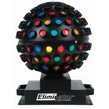 Eliminator Lighting Eliminator Lighting E 112 Rotating Mirror Ball Effect Multi