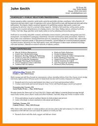 Public Relations Resumes 6 Pr Resume Example Apgar Score Chart