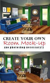 Create Your Own Room Design Free - how to create a room mock up no photoshop necessary mrs fancee