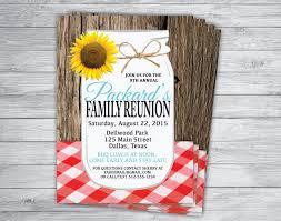 invitation for family reunion free printable invitation design