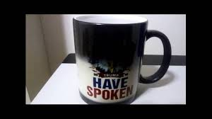 Color Changing Mugs Trump 2016 We The People Have Spoken Color Changing Mug