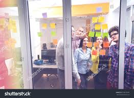 Techoffice by Startup Business People Group Working Everyday Stock Photo