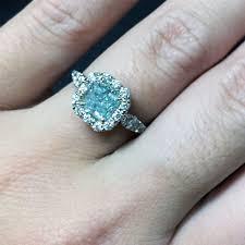 blue engagement rings pastel engagement rings for easter designers diamonds