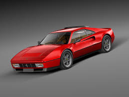 ferrari classic antique 1989 sport 3d model