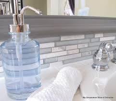 how to update your house how to update your backsplash glass bath and house