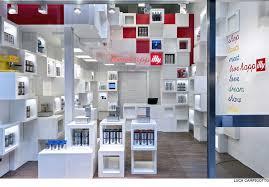 shop design illy temporary shop design by caterina tiazzoldi interior design