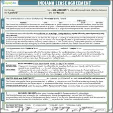 12 Vendor Agreement Template Rent Indiana Rental Lease
