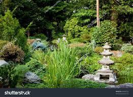 japanese zen gardens beautiful peaceful japanese zen garden used stock photo 59482552