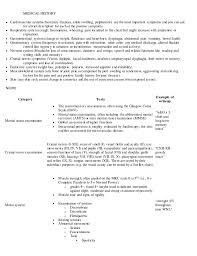 mental status exam template documentation