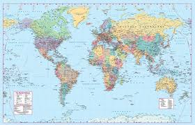 Printable World Map A1 | 30 world map psd posters free psd posters download free