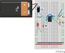 555 timer basics astable mode