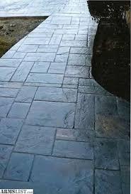 Concrete Backyard Patio by Stamped Concrete Patterns Mi Decorative Concrete Patterns Mi