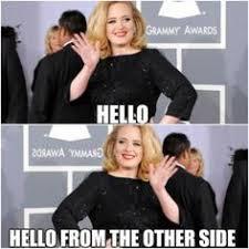 Adele Meme - leaked adele s hello without auto tune random stuff and memes