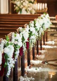 wedding flowers for church diy wedding flowers for church the world s catalog of ideas pew