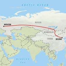 Moscow On Map Moscow To Beijing Trans Siberian 9 Day Tour On The Go Tours