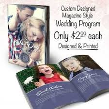 magazine wedding programs wedding magazine program template program template weddings and