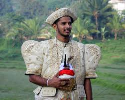 sri lankan national dress groom in traditional costume sri lanka sri lanka
