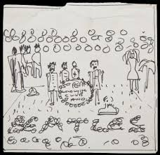 early beatles u0027sgt pepper u0027 album drawing to be auctioned axs