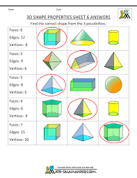 free printable geometry worksheets 3rd grade