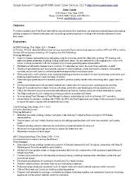 Criminal Justice Resume Samples by Example Resumes Examples Of Project Management Resumes Best 25