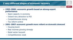 impact of economic recovery on irish business fergal o u0027brien