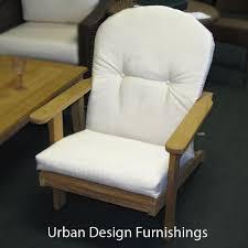 amazon com outdoor patio adirondack chair replacement cushion