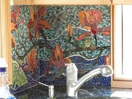 Kitchen Mosaic Backsplash Ideas by 43 Best Backsplash Images On Pinterest Mosaic Ideas Mosaic And