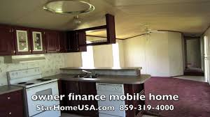 14x80 mobile home owner finance kentucky danville ky youtube