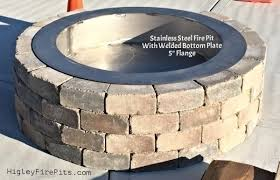 Firepit Insert Steel Pit Insert Inspirational Pit Insert Bowl Pit