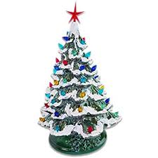 ceramic christmas tree starry 15 lighted ceramic christmas tree 15