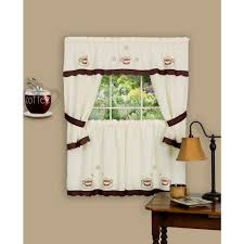 cottage curtains u0026 drapes window treatments the home depot