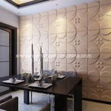 Decorative Insulation Panels For Walls Acoustic Sound Insulation 3d Pvc Wall Panel For Interior