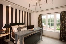 Modern Wallpaper Bedroom Designs with Modern Bedroom Design Ideas With Striped Bedroom Wallpaper Home