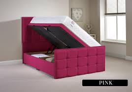 Divan Ottoman Beds by Aspire Furniture Pembroke 5ft Kingsize Fabric Ottoman Bed